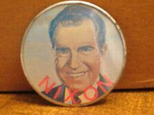 1972 NIXON-AGNEW PINBACK HOLOGRAM BADGE (NEAT!)