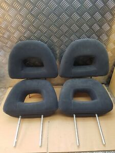 Mitsubishi 3.2 DID head rest set front rear left right passenger driver side x4