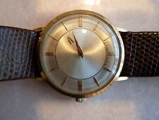 Longines Mystery Dial watch 10K Gold Filled