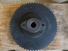 "Martin #60 w/60T Sprocket & SPA-19 & SPH-19 Shear Pin Hub 1-1/2"" bore, 3/8 KW"