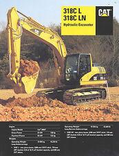 2002 Caterpillar 318C Hyd. Excavator 23 Page Brochure
