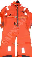 UNITOR -AQUATA : ARO V40-185  *SOLAS IMMERSION SUIT with Head Pillow 195cm * 05