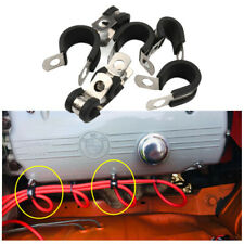 Cable Clamps Rubber Insulated Cushion Car Parts 1/4in 5/16in 3/8in 1/2in 3/4in
