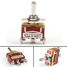 3 PCS ILLUMINATED ON OFF TOGGLE SWITCH AMBER PRE WIRED 12 VOLT 20 AMP IBITSA
