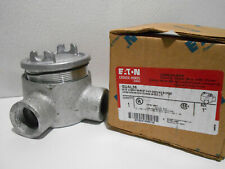 """Eaton Crouse-Hinds GUAL36 - 1"""" Gual Conduit Outlet Box"""