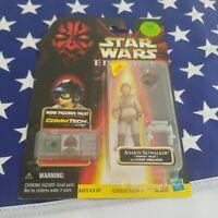 "1999 Hasbro Star Wars Episode 1 3.75"" Anakin Skywalker Naboo Pilot Sealed"