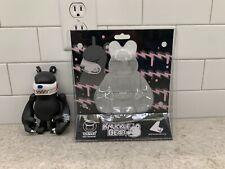 """Touma 7"""" Knuckle Bear Vinyl Toy Kaiju Black Used"""