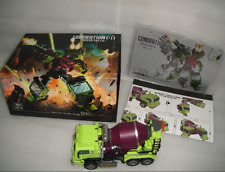 Transformers Generation Toy Gravity Builder GT-01B Mixer Truck in Stock