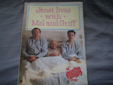 Janet Lives with Mel and Griff by Griff Rhys-Jones, Mel Smith (Paperback, 1989)