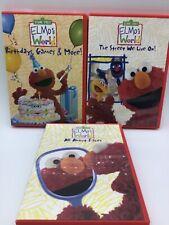 Sesame Street Elmo's World DVD Bundle (P15)