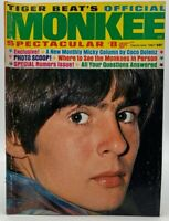 Tiger Beat Magazine Dec 1967 Monkees Davy Jones Peter Tork Spectacular 20-258AAZ