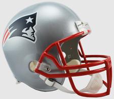 NEW ENGLAND PATRIOTS NFL Riddell FULL SIZE Deluxe Replica Football Helmet