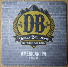 "Devils Backbone / Brewdog ""This is Lager"" Beer Mat"