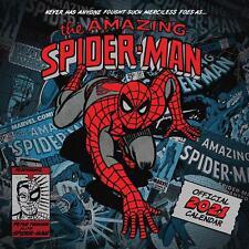 Spiderman 2021 Calendar Official Square Wall Calendar