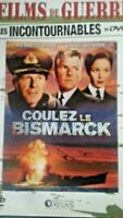 Coulez le Bismarck Film de Guerre  Kenneth More DVD