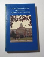 Valley Stream Central High School NY Alumni Directory 1993 1st Ed HC New