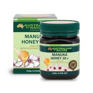 Australian By Nature Bio-active Manuka Honey 20+ MGO 800+ 250G