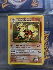 Mint Condition Blaine's Arcanine - Holo