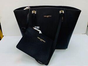 Karl Lagerfeld Bolso Para Mujeres Bolsón Para las compras-interfaz Karl BNWT genuino Karl 100/%