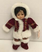 Fritz's Basket Babies Eskimo Doll Kita w/Tag, Numbered & Signed by Gustave Wolff