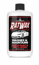 VINYL WRAP CAR SOAP- RAT WAX NO SHINE formula, import, euro, exotic