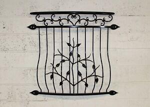 Powder coated Juliet Balcony, Balustrades, Railings, heart ornaments. Number 10