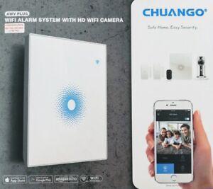 WiFi Alarmsystem Haus Alarmanlage CHUANGO AWV PLUS mit WiFi IP Kamera