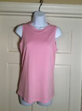 Nike Women's Fit Dry S (4-6) Sleeveless Pink Top- Free Shipping