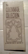 JAMESTOWN LOUNGE COLONNADE COLLECTION VINTAGE BROCHURE #77/CATALOG-1950's