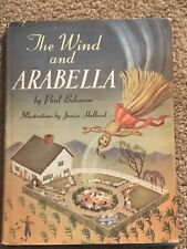 Vintage Book The Wind And Arabella By Paul Bohanon 1947 1st Edition