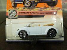 Matchbox #81 Worldwide Wheels Concept 1 Beetle Convertible White 2000