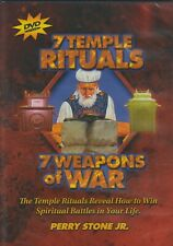7 Temple Rituals / 7 Weapons of War by Perry Stone (DVD) New Sealed