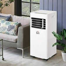 Homcom Mobile Air Conditioner Remot Control Cooling Dehumidifying 7000BTU WHITE