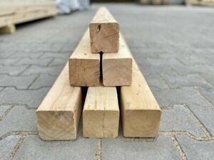 Kantholz Brett Bauholz Fichte Pinie 9 cm x 9 cm x 245 cm / 4cm x 9 cm x 213,5 cm