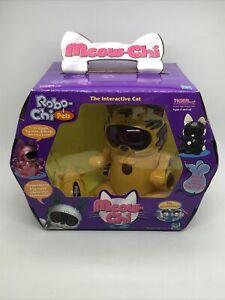 MEOW CHI ⚡️ vtg NEW INTERACTIVE CAT 2000 TIGER Robo  / HASBRO