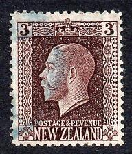 NEW ZEALAND USED 1915 SG433 3d Chocolate