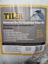6m Universal Dry Fixed Ventilated Ridge Kit Til-R