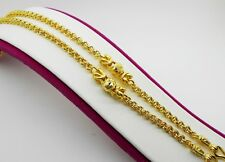 Necklace 20 Inch 19 Grams Jewelry Women Chain 22K 23K 24K Thai Baht Gold Gp