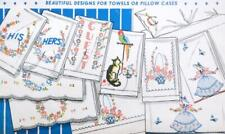 Vogart Transfer 119 Beautiful Designs for Towels, PIllow Cases ~ UNCUT