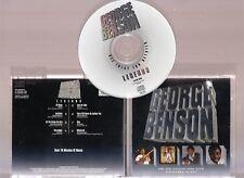 LEGENDS by GEORGE BENSON. EXCELLENT JAZZ ETC.. COMPILATION ALBUM ON CD!!
