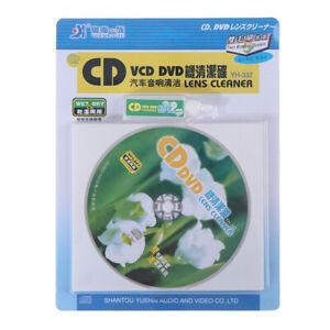 CD VCD DVD Player Lens Cleaner Dust Dirt Removal Cleaning Fluids Disc Restor-lk
