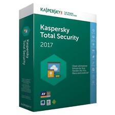 Kaspersky Total Security 2018 - 1 PC DEVICE 1 Year