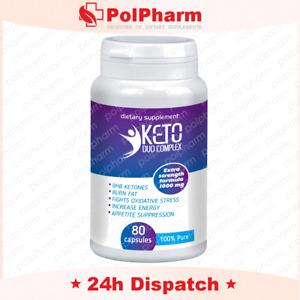 KETO Advanced Weight Loss ® Ketosis Diet Pills Fat Burn Carb 80 Slimming caps