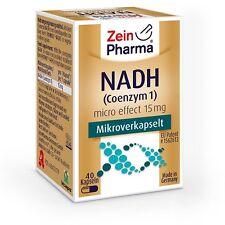 Hochwertige NADH Kapseln - micro effect Kapseln mit biologisch aktivem NADH