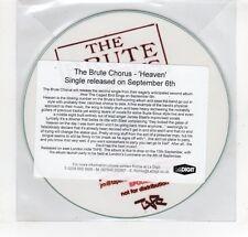 (GN861) The Brute Chorus, Heaven - 2010 DJ CD