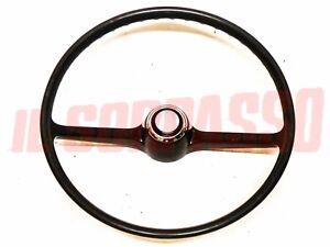 Steering Wheel Steering + Button Horn Fiat 850 Sedan - 1100 R Original