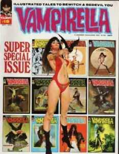 VAMPIRELLA #1-113 FULL RUN ON DVD ROM VINTAGE WARREN HORROR COMICS MAGAZINES