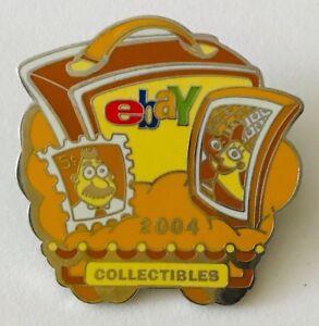 Ebay Live 2004 Lapel Pin Collectibles (Yellow) Category Ebayana Ad Souvenir
