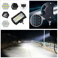 "2X 5"" Super Bright White Car SUV Flood LED Working Lights Fog Driving Lamps 168W"