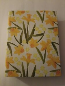 New Floral Yellow Garden Planner Journal and Log Book Horizon Group USA